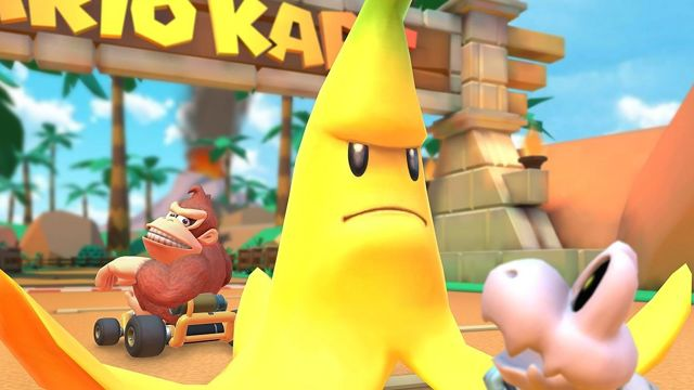 Mario Kart Tour: Como utilizar un plátano gigante tres veces