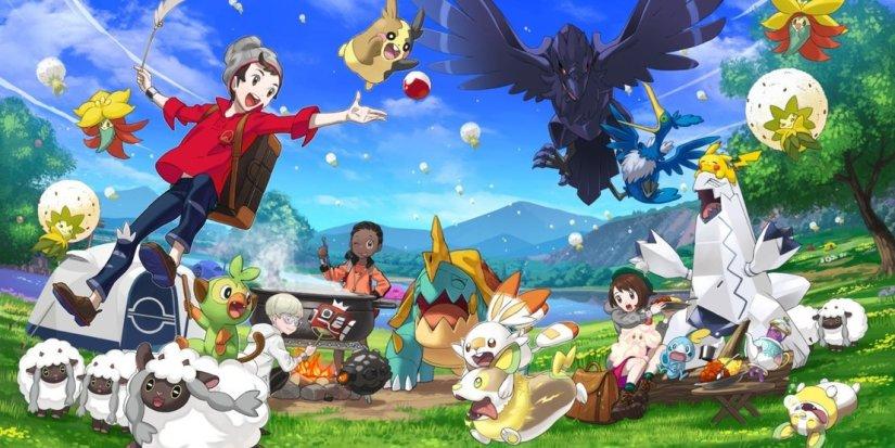 Pokemon Iniciales Espada y Escudo
