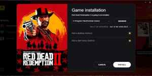 Red Dead Redemption 2 Realiza la Pre Descarga para PC