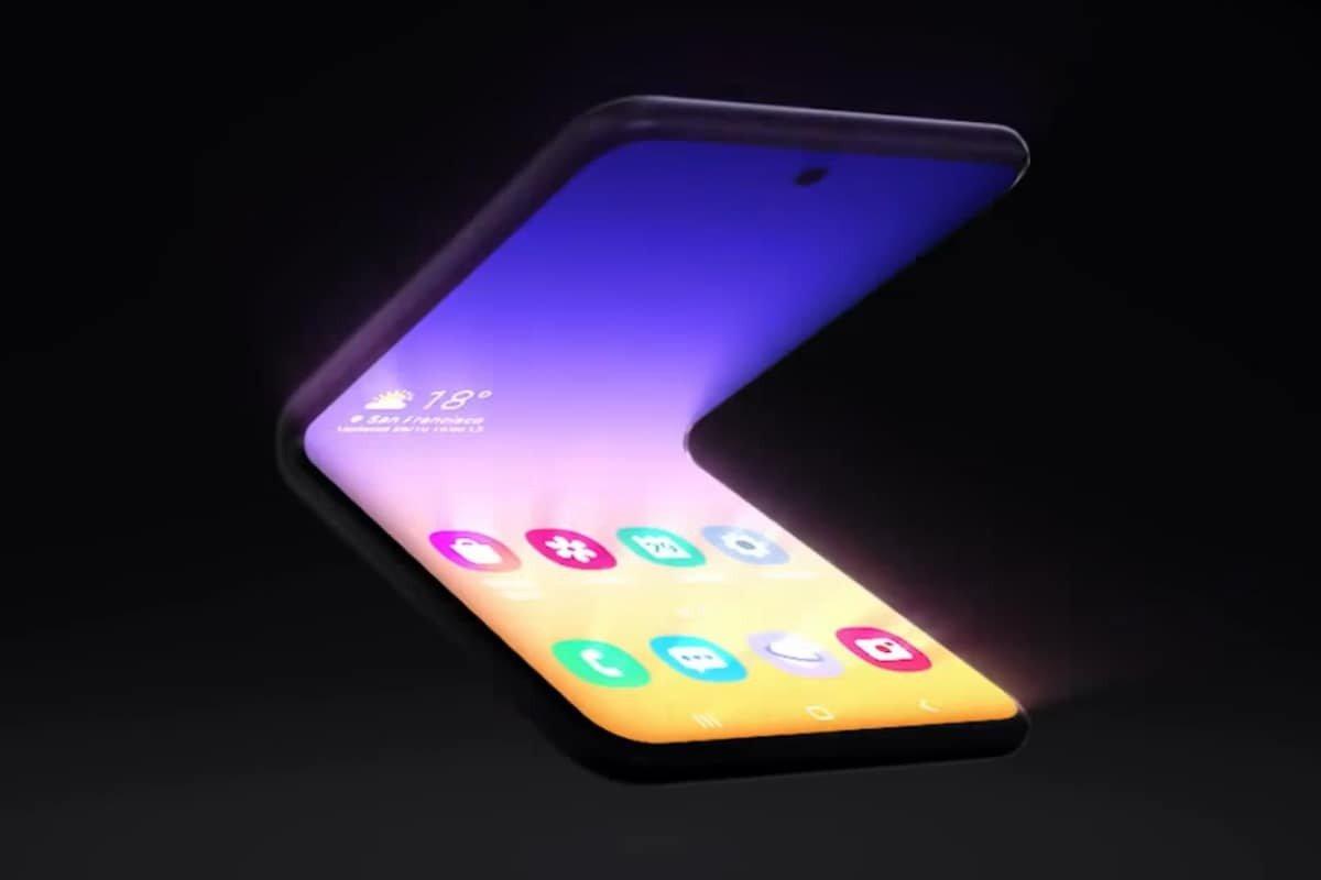 Samsung presenta un nuevo diseño de smartphone que se pliega