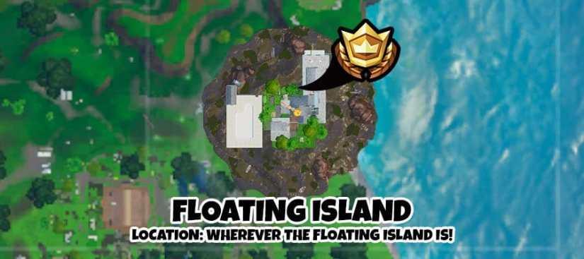 Ubicación Grabación Isla Flotante