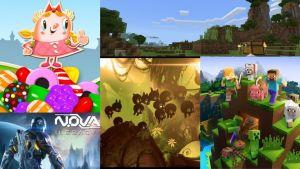 Diez juegos para teléfonos móviles gratuitos y sin usar internet