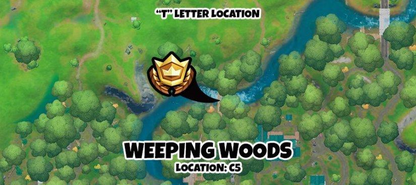 Letter T Map Fortnite