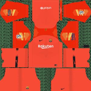 Tercer kit del portero del Barcelona - Kits de Dream League Soccer
