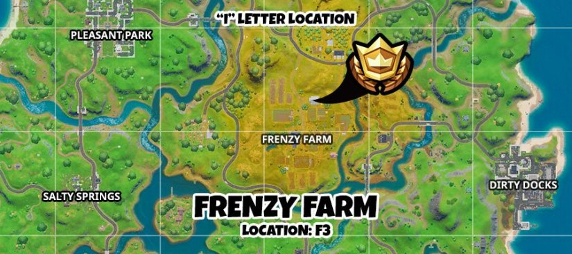 Where to find Hidden I - Fortnite 2