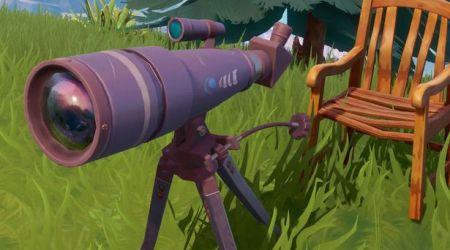 Fortnite: Dónde destruir un Telescopio, una Televisión y un Poste de Teléfono