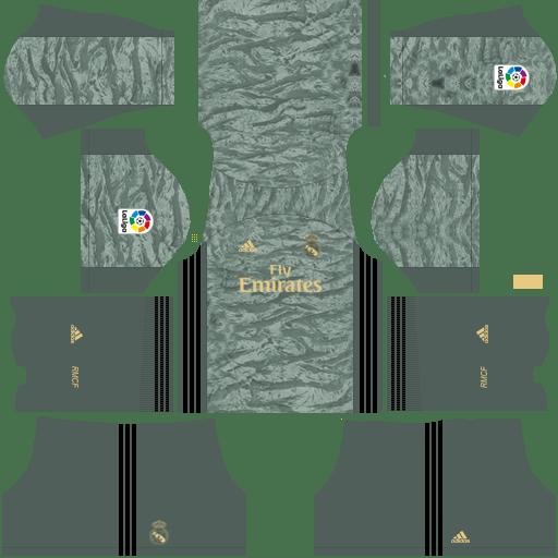 kitReal Madrid goalkeeper home – Kits de Dream League Soccer