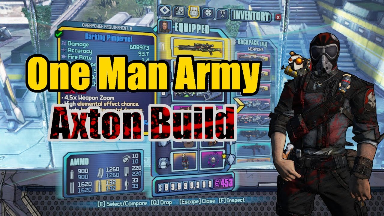 Borderlands 2: Axton Complete Build