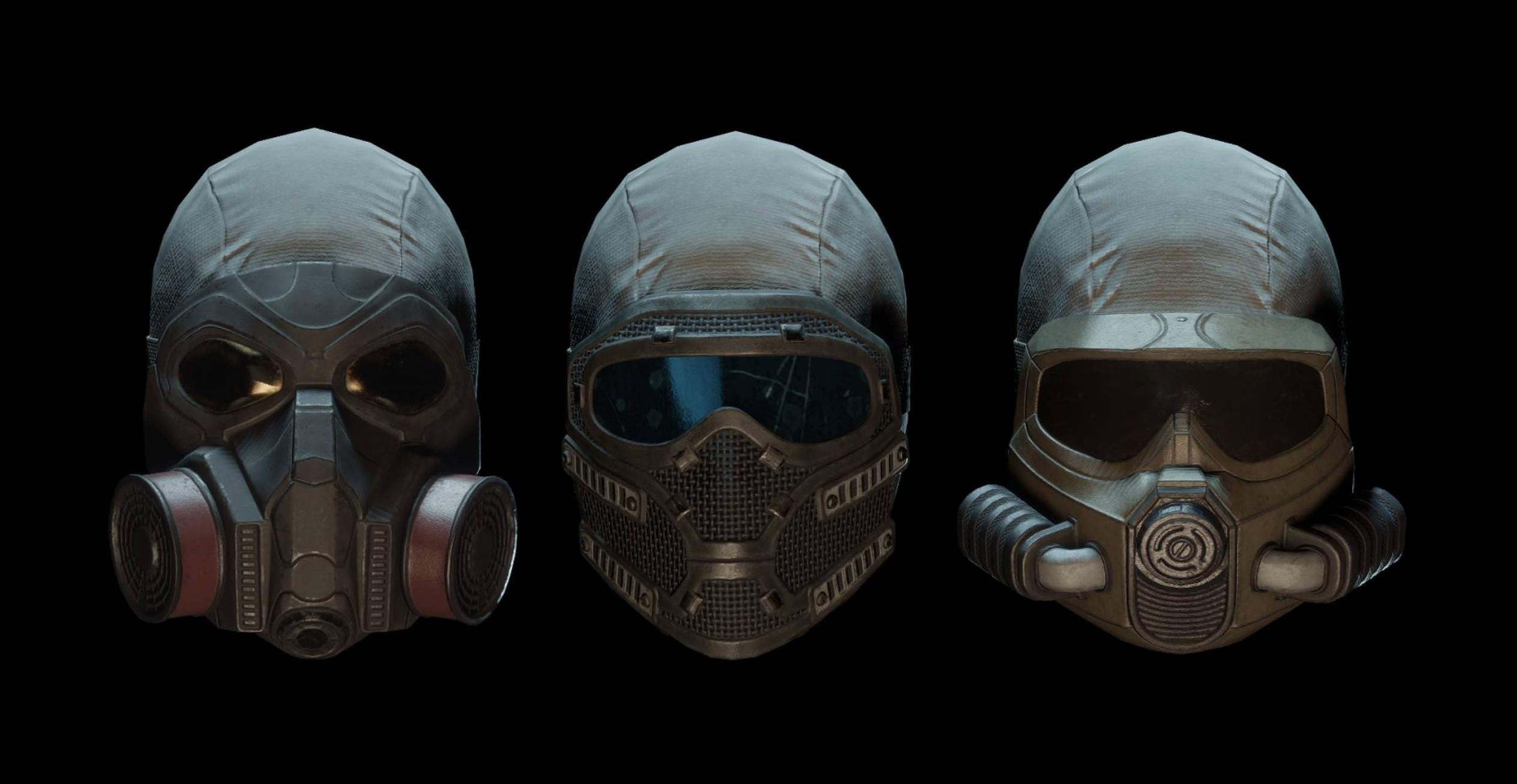 The Division máscaras