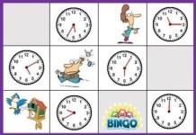 El bingo de las horas
