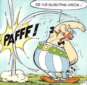 Aprende francés con Asterix y Obelix