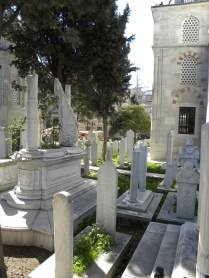 Graveyard at Kılıç Ali Pasha