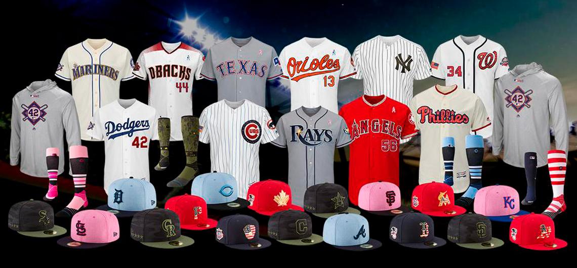 MLB definió los uniformes que se usaran los días festivos en el 2018