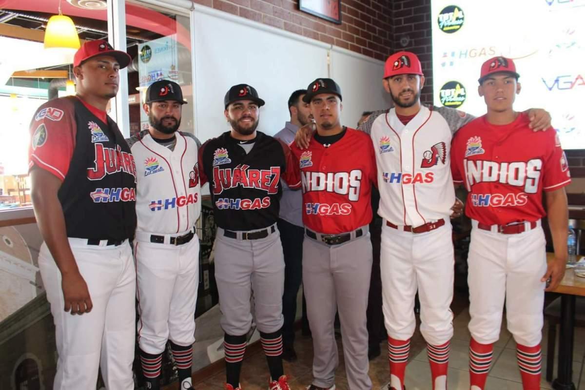 Presentan nuevo uniforme de Indios de Juárez