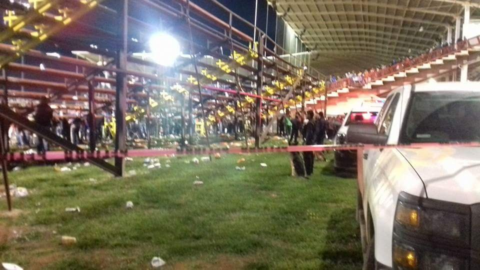 Alerta máxima la final estatal de beisbol de Chihuahua - columna de un juego de béisbol