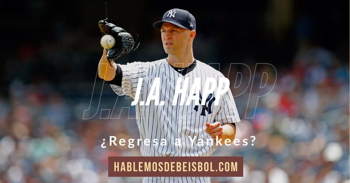 Yankees y J. A. Happy cerca de firmar acuerdo por 3 años