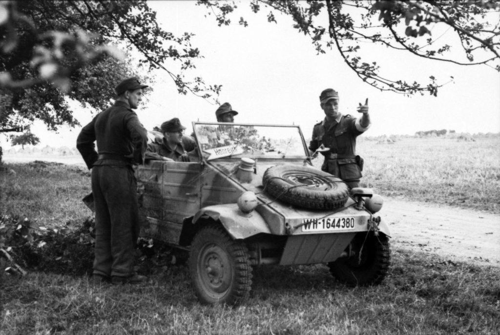 El coche de guerra de Volkswagen