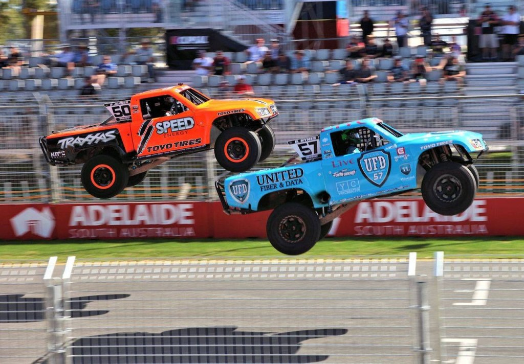 Stadium_Super_Trucks; Robby_Gordon, Pickup