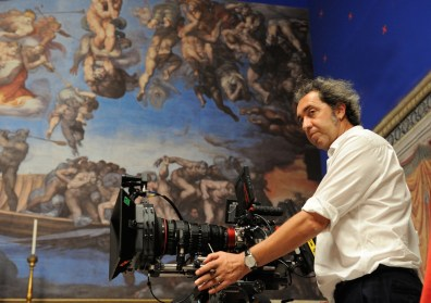 "set of ""The young Pope"" by Paolo Sorrentino. 09/11/2015 sc.503 - ep 5 in the picture Paolo Sorrentino. Photo by Gianni Fiorito"