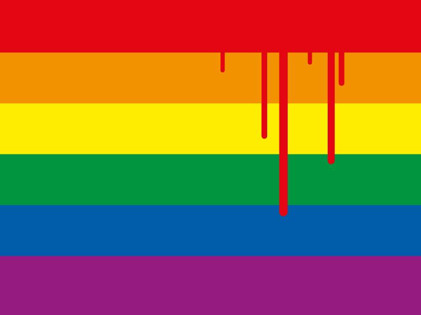 Karte gegen homophobe und transphobe Gewalt!