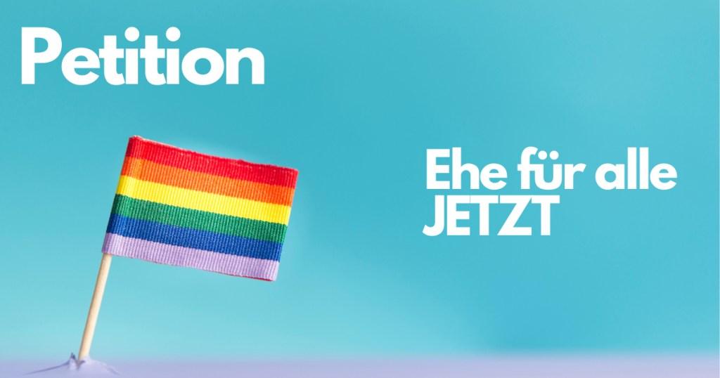 Gegen die Verfassungsänderung, für die «Ehe für alle»!