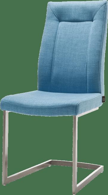 malene chaise pied traineau inox carre avec poignee