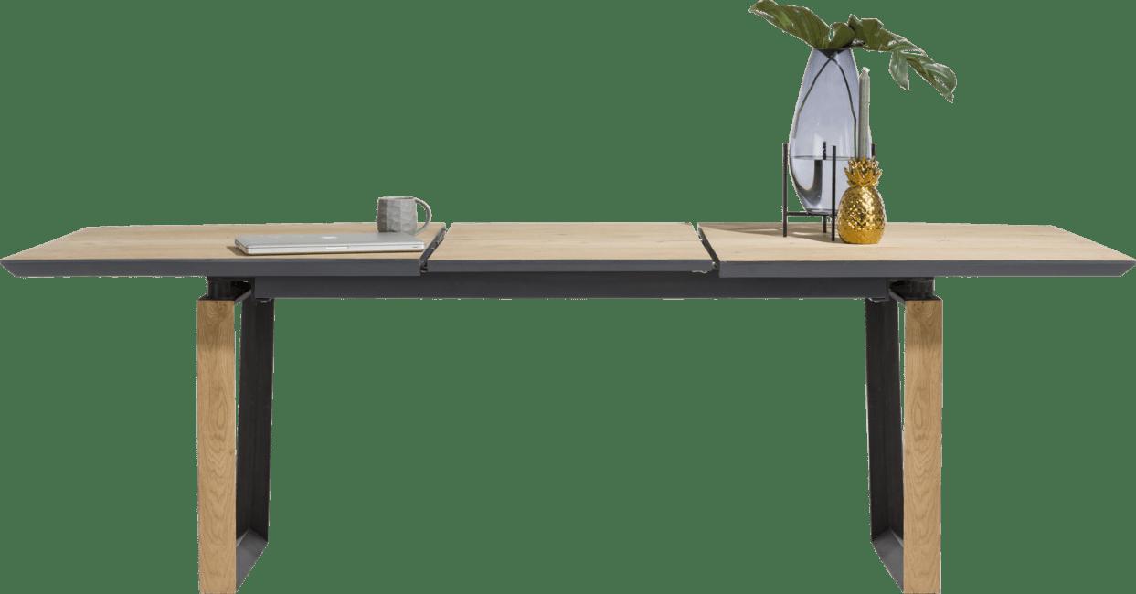 darwin table a rallonge 160 60 x 100 cm