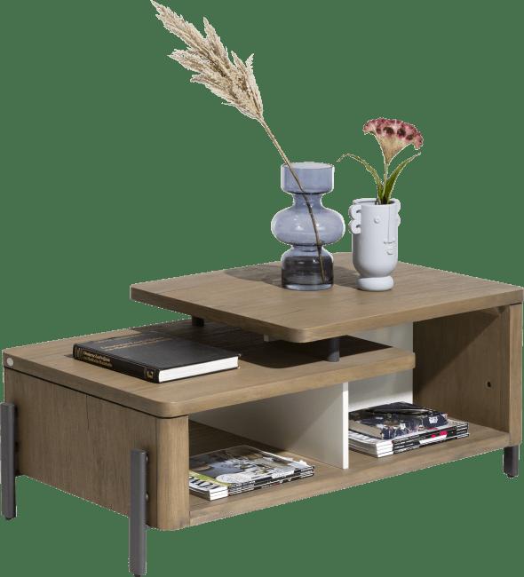 shirley table basse 110 x 60 cm 1 niche