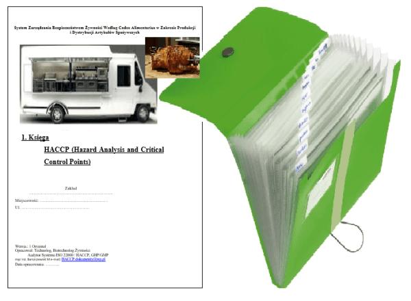 HACCP Food Truck Kebab Kurczak z rożna
