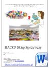 HACCP Sklep Spożywczy