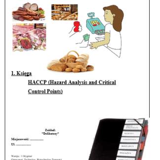 HACCP Delikatesy