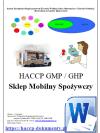 HACCP GMP/GHP Sklep Mobilny Spożywczy