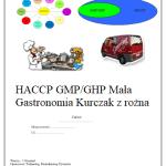 HACCP GMP/GHP dla Kurczaka z rożna