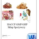 HACCP GMP GHP Sklep Spożywczy