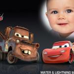 Fotomontaje Infantil de Cars