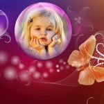 Fotomontaje de mariposa para tus fotos
