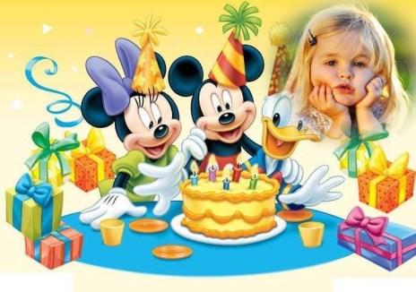 Cumpleaños minnie y mickey