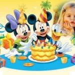 Fotomontaje para cumpleaños infantiles