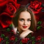 Fotomontaje de rosas para el Día de la Mujer