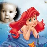 Fotomontaje de Princesa Ariel