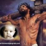 Fotomontaje de Jesucristo online