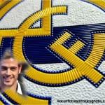Fotomontaje del Escudo del Real Madrid