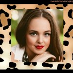 Fotomontaje de animal print para chicas