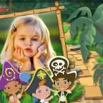 Fotomontaje infantil de Jake y los Piratas