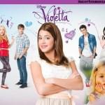 Fotomontaje infantil de Violetta