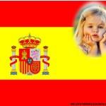 Fotomontaje de Bandera Española