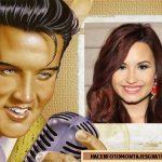 Fotomontaje de Elvis Presley