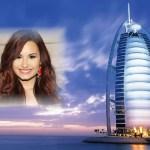 Fotomontaje de paisaje en Dubái
