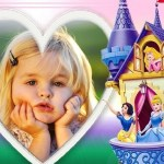 Fotomontaje infantil de castillo Princesas