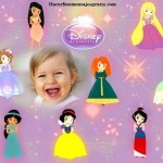Fotomontaje infantil de Princesas bebés